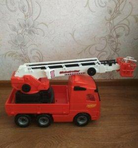 Большая пожарная машина Полесье