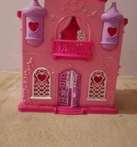 домик замок принцессы