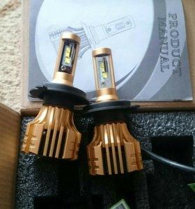 LED h4 лампы