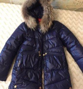 Парка (куртка) на девочку (рост 146-162)