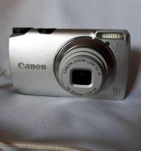 Цифровой фотоаппарат Canon PowerShot A3200 IS