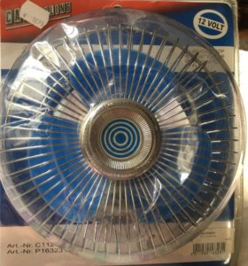 Вентилятор на прикуривателе