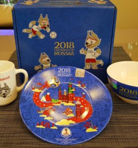 Детский набор от Fifa, с символикой ЧМ 2018