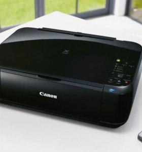 Мфу Canon + Wi-Fi (Принтер, Сканер, Копир)