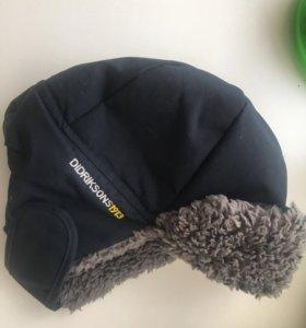Зимняя шапка Дидриксон (Швеция) на 4-5 лет (52 см)