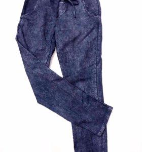 Трикотажные брюки под джинсы