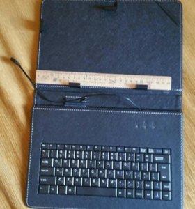 Чехол для планшета с клавиатурой новый