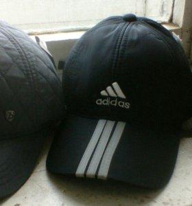 кепки теплые новые