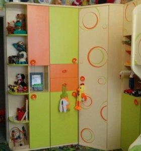 Детская модульная мебель из 7 предметов