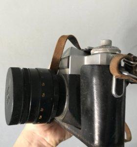 Фотоаппарат Зенит-Е с 2 объективами