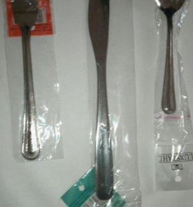 Вилки, ножи, чайные ложки НОВЫЕ