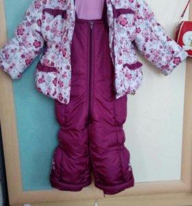 Куртка зимняя с подстёжкой из цигейки
