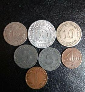Монеты старой Германии и Австрии