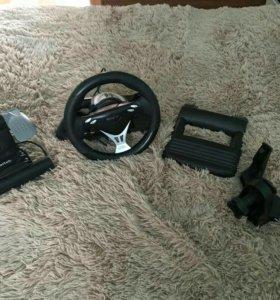 Игровая приставка руль и педали Saitek R660 GT
