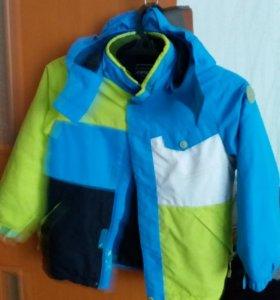 Куртка на мальчика финская.