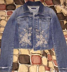 Джинсовая куртка Trussardi Jeans оригинал
