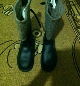 Новые мужские зимние сапоги