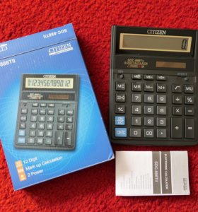 Калькулятор citizen SDC 888TII