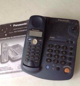 Телефон Panasonic стационарный радиотелефон
