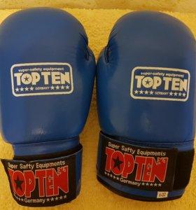 Боксерские перчатки 6 oz