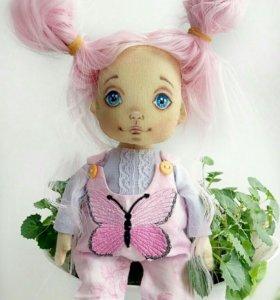Текстильная кукла Зенечка