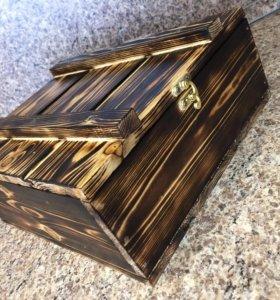 Подарки в деревянных ящиках на любой бюджет