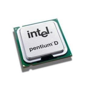 Процессор intel Pentium D 3000Мгц