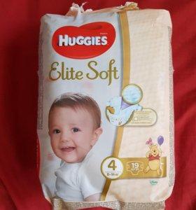 Памперсы Huggies Elite soft 4