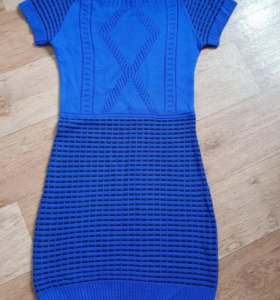 Новое вязаное платье,44-46