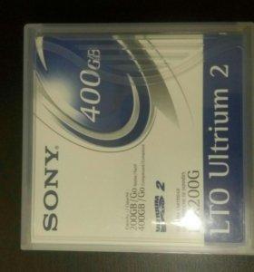 Картридж для стимера sony ltx200g ultrium lto2 20
