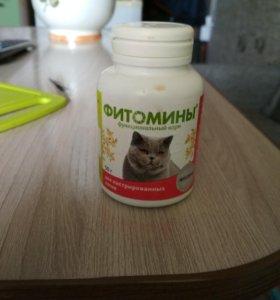 Витамины для котов