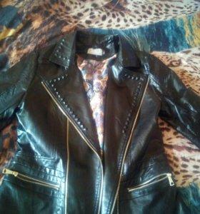 Куртка эко кожа косуха р46-48