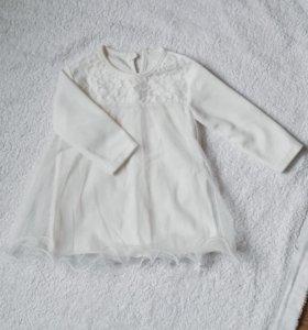 Новое платье для малышки 80 размер