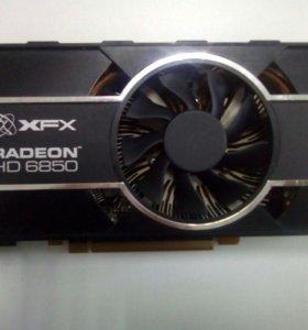 Видеокарта XFX Radeon HD 6850 1Gb