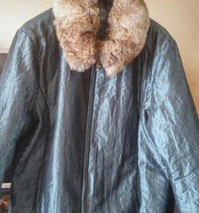 Куртка демисезонная 52-54 разм б/у