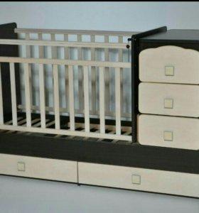 Кровать детская трансформер.