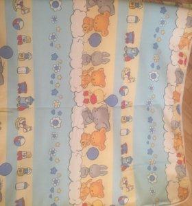 Бортики для кроватки +наматрасник