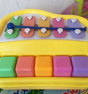 Пианино + металлофон