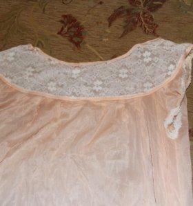 комплект халат и сорочка комплект
