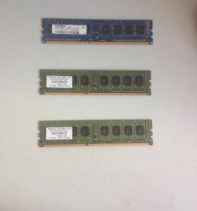 Оперативная память DDR3 1Gb для компьютера