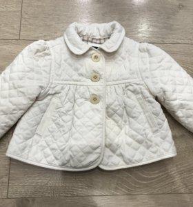 куртка демисезонная для девочки Gap