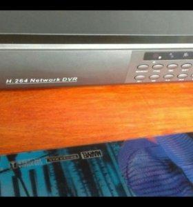 Видеорегистратор 4х канальный dvr h.264 network