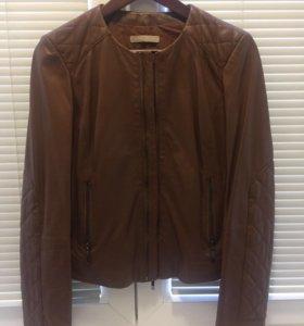 Кожаная куртка Италия stefanel