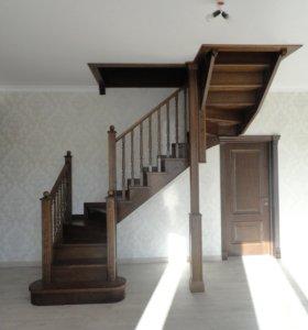 Деревянные лестницы и изделия из дерева на заказ