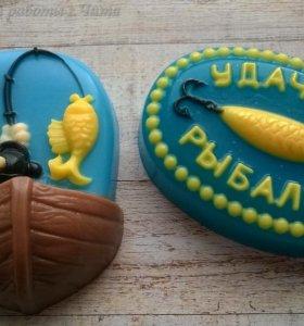 Набор сувенирного мыла в подарок рыбаку