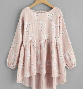 Новая блузка babydoll