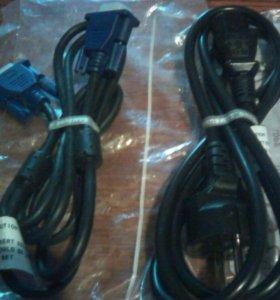 Шнур питания и кабель Самсунг для компьютера