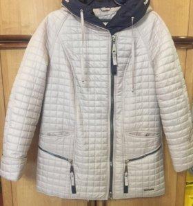 Продам весеннею куртку 50-54