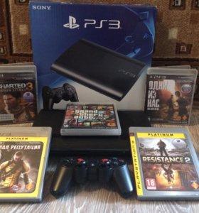 PlayStation 3 Super Slim Ps3 с играми