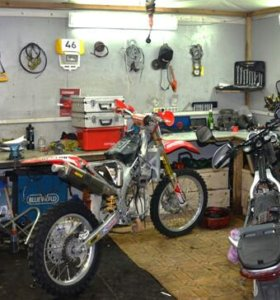 Ремонт мотоциклов,мопедов и скутеров